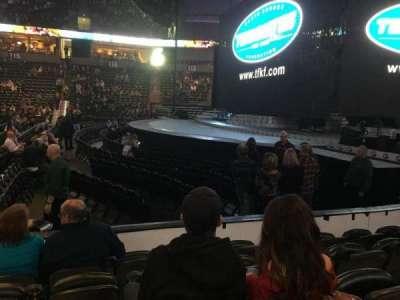 Spokane Arena, sección: 106, fila: E, asiento: 13