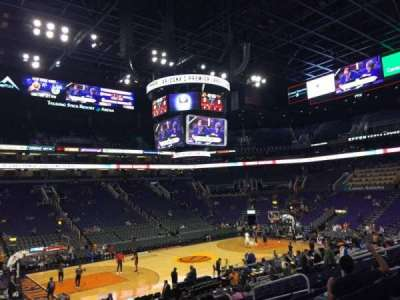 Talking Stick Resort Arena, sección: 104, fila: 20, asiento: 13