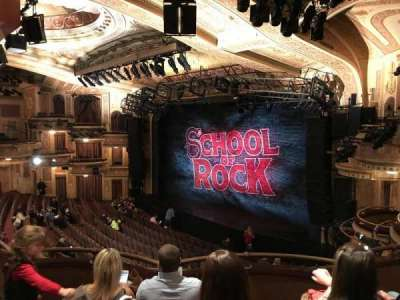 Winter Garden Theatre, sección: Mezz, fila: D, asiento: 22