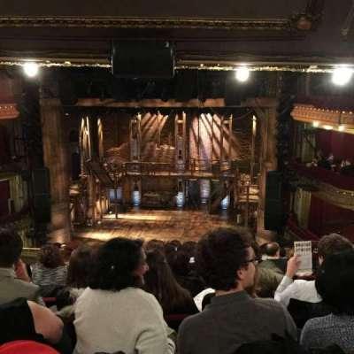CIBC Theatre, sección: Mezzanine RC, fila: K, asiento: 314