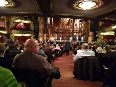 CIBC Theatre, sección: Center, fila: X, asiento: 123