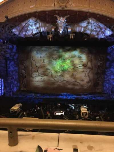 KeyBank State Theatre, sección: Loge C, fila: A, asiento: 605