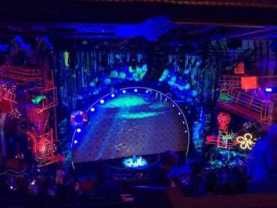 Palace Theatre (Broadway), sección: Rear Mezz, fila: L, asiento: 121