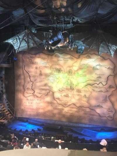Gershwin Theatre, sección: FMEZZ, fila: A, asiento: 116