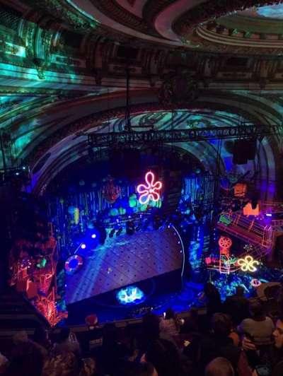 Palace Theatre (Broadway), sección: Balcony Left, fila: E, asiento: 27