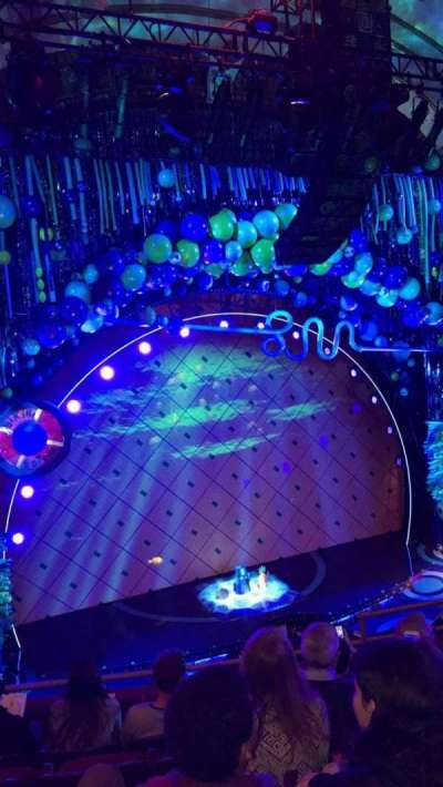 Palace Theatre (Broadway), sección: LMEZZ, fila: E, asiento: 9
