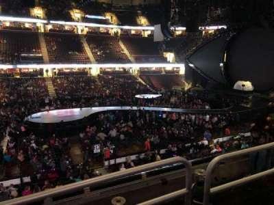 Quicken Loans Arena, sección: C108, fila: 18, asiento: 11