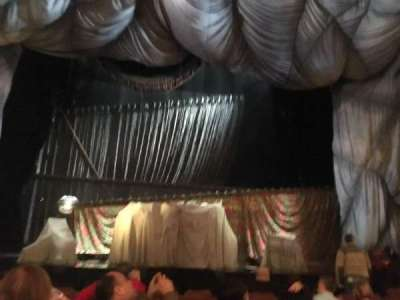 Majestic Theatre, sección: CORC, fila: G, asiento: 106