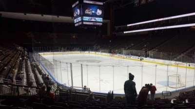 Jacksonville Veterans Memorial Arena, sección: 110, fila: N, asiento: 12