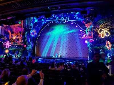 Palace Theatre (Broadway), sección: Orchestra, fila: N, asiento: 2