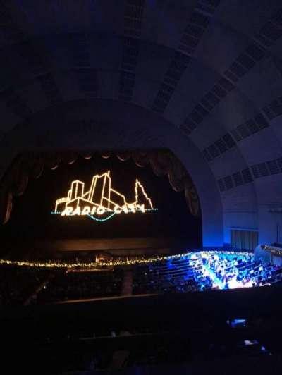Radio City Music Hall, sección: 2nd Mezzanine 3, fila: A, asiento: 310