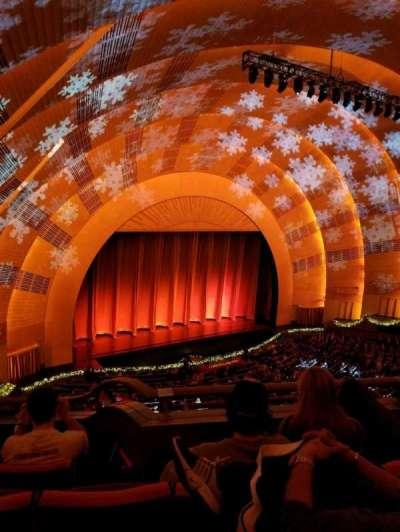 Radio City Music Hall, sección: 3rd Mezzanine 7, fila: b, asiento: 705