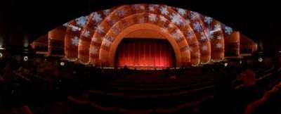 Radio City Music Hall, sección: Orchestra 4, fila: P, asiento: 411