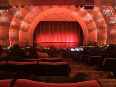 Radio City Music Hall, sección: 2nd Mezzanine 5, fila: J, asiento: 501