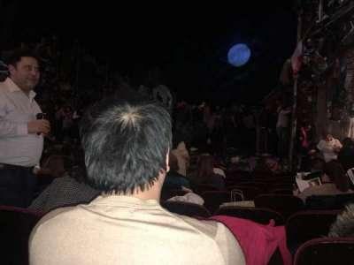 Neil Simon Theatre, sección: orchestra, fila: L, asiento: 10