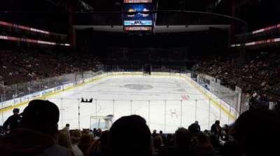 Jacksonville Veterans Memorial Arena, sección: 108, fila: R, asiento: 9