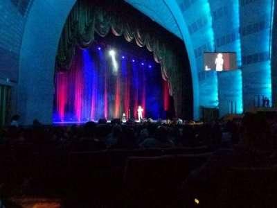 Radio City Music Hall, sección: orchestra 7, fila: ss, asiento: 702