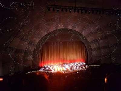 Radio City Music Hall, sección: 3rd Mezzanine 6, fila: D, asiento: 601