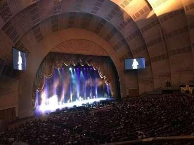 Radio City Music Hall, sección: 1st Mezzanine 7, fila: BB, asiento: 706
