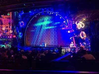 Palace Theatre (Broadway), sección: Orchestra, fila: O, asiento: 8