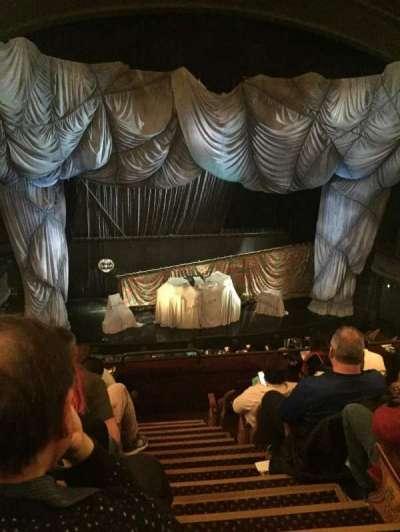 Majestic Theatre, sección: Front Mezzazine, fila: F, asiento: 3