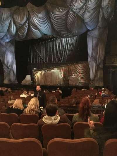Majestic Theatre, sección: Orchestra right, fila: O, asiento: 14