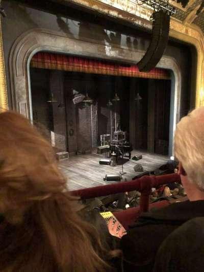 Walter Kerr Theatre, sección: MEZZL, fila: B, asiento: 23