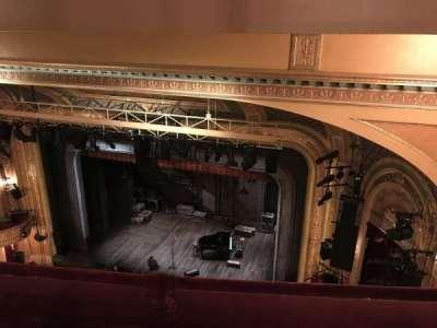 Walter Kerr Theatre, sección: Balcony, fila: B, asiento: 20