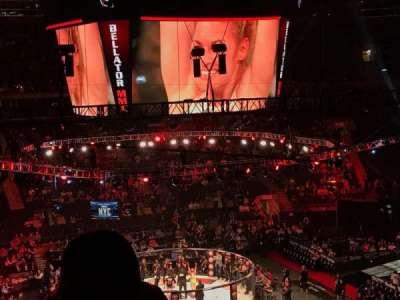 Madison Square Garden, sección: 210, fila: 5