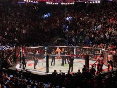 Madison Square Garden, sección: 109, fila: 10, asiento: 2