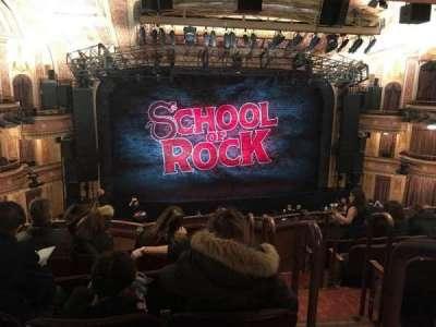 Winter Garden Theatre, sección: Mezz Center, fila: F, asiento: 101