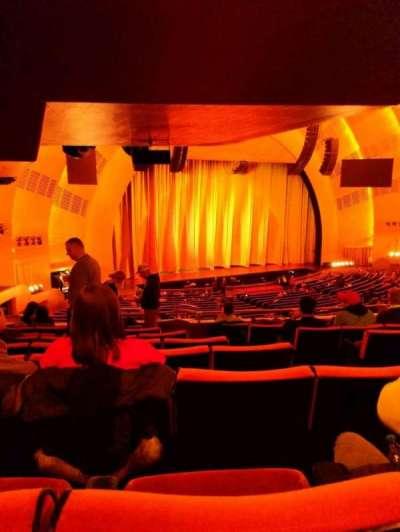 Radio City Music Hall, sección: 1st mezzanine 7, fila: h, asiento: 704