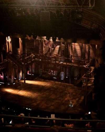 Richard Rodgers Theatre, sección: Rear Mezzanine, fila: D, asiento: 28