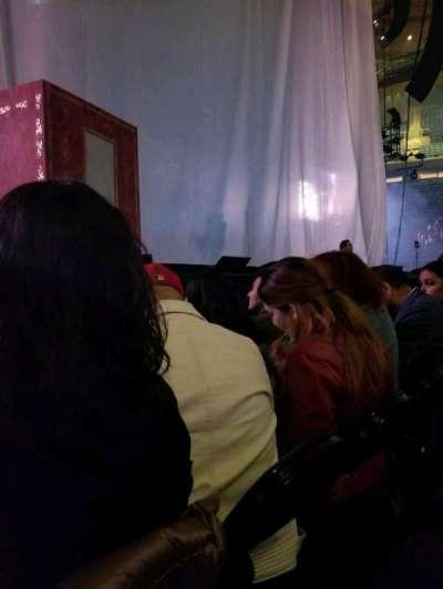 Madison Square Garden, sección: A, fila: 4, asiento: 5