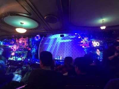 Palace Theatre (Broadway), sección: Orchestra, fila: T, asiento: 106