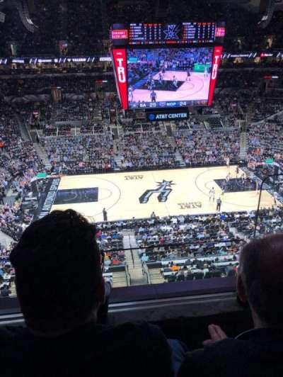 AT&T Center, sección: 209, fila: 2, asiento: 2