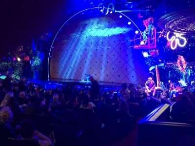 Palace Theatre (Broadway), sección: ORCH, fila: N, asiento: 4