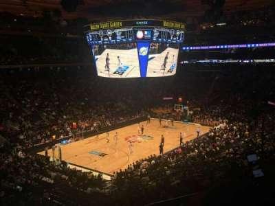 Madison Square Garden, sección: 207, fila: 2, asiento: 16