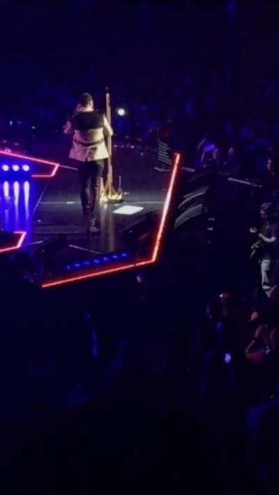Madison Square Garden, sección: 116, fila: 20, asiento: 4
