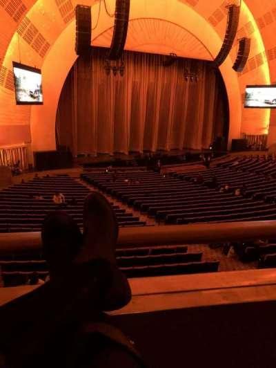 Radio City Music Hall, sección: 1st mezzanine 7, fila: BB, asiento: 703