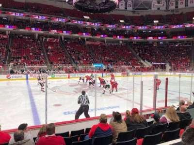 PNC Arena, sección: 120, fila: G, asiento: 10