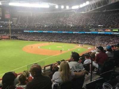 Chase Field, sección: 218, fila: 6, asiento: 5