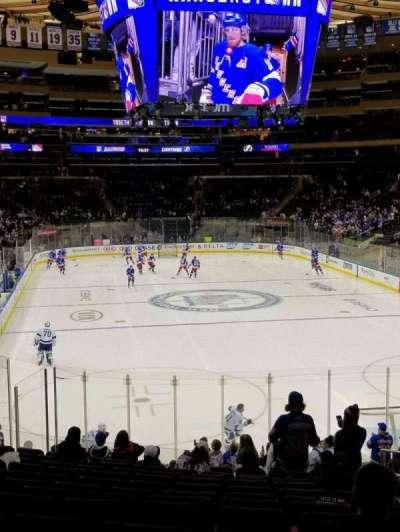 Madison Square Garden, sección: 119, fila: 19, asiento: 20
