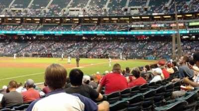 Chase Field, sección: 133, fila: 14, asiento: 18