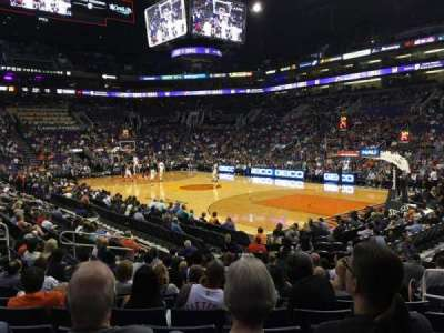 Talking Stick Resort Arena, sección: 111, fila: 12, asiento: 4