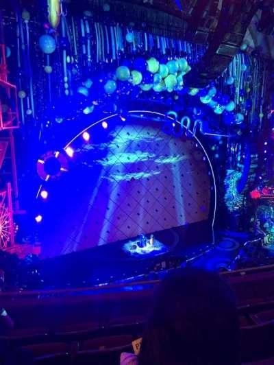 Palace Theatre (Broadway), sección: Mezzanine, fila: D, asiento: 117