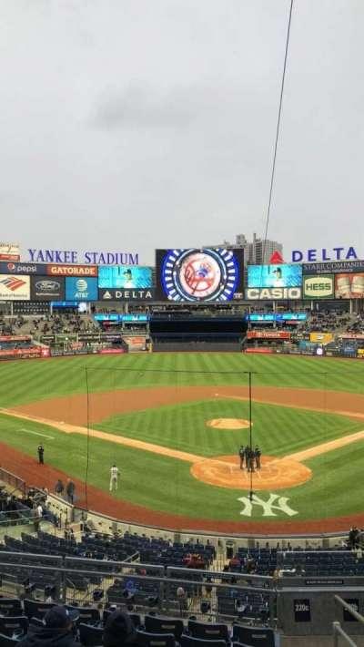Yankee Stadium sección 220c