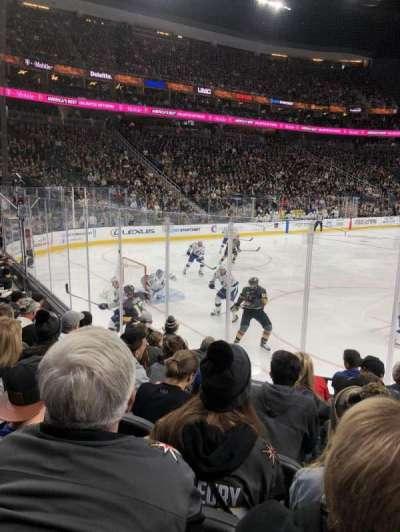 T-Mobile Arena, sección: 12, fila: G, asiento: 10