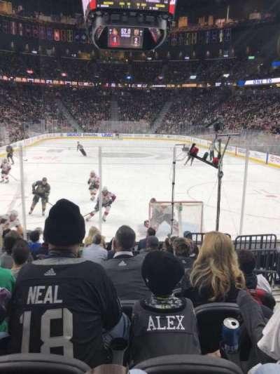 T-Mobile Arena, sección: 10, fila: H, asiento: 12