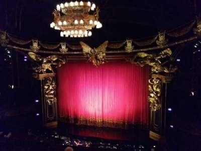 Majestic Theatre, sección: Front Mezzanine, fila: E, asiento: 2